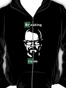 Breaking Code Black Programmer Shirt Breaking Bad Parody T-Shirt