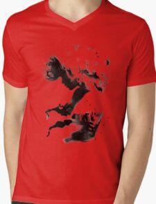 Black Cloud Mens V-Neck T-Shirt