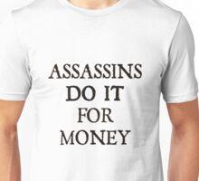 d20 Scoundrels: Assassins Do It For Money Unisex T-Shirt