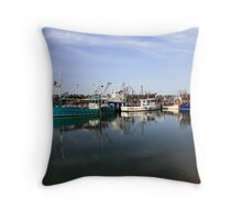Reflections Lakes Entrance Throw Pillow