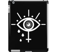 Mystic gothic eye white iPad Case/Skin