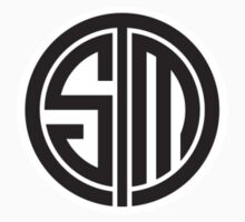 Team SoloMid (Black on White) Kids Clothes