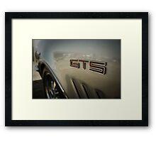 G T S Framed Print