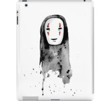 No-Face Painting iPad Case/Skin
