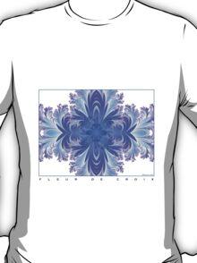 Fleur de Croix Violet T-Shirt