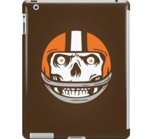 Die Hard Football Skull Icon iPad Case/Skin