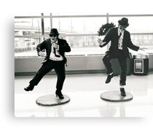 Jake and Elwod at Midway Airport, Chicago. Metal Print