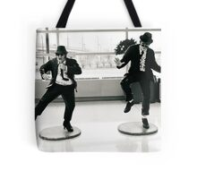 Jake and Elwod at Midway Airport, Chicago. Tote Bag