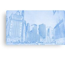 Chicago Downtown Architecture Metal Print
