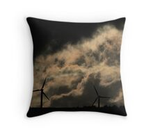 Dark Power Throw Pillow