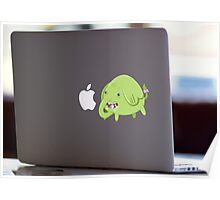 Mac Sticker - How's That Apple? - Tree Trunks Poster