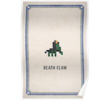 Pixel RPG - Death Claw Poster