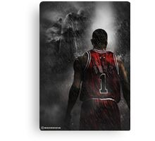 Derrick Rose Chicago Bulls Canvas Print