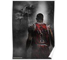 Derrick Rose Chicago Bulls Poster
