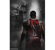 Derrick Rose Chicago Bulls Photographic Print