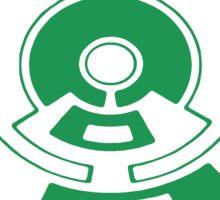 Mandala 23 Green With Envy Sticker