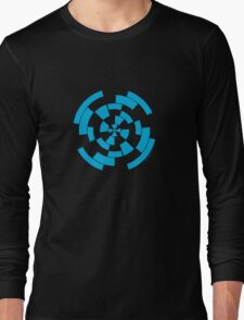 Mandala 10 Into The Blue Long Sleeve T-Shirt