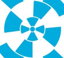 Mandala 10 Into The Blue Sticker