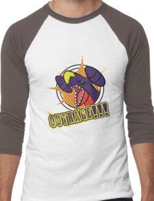 Garchomp's Outrage Men's Baseball ¾ T-Shirt
