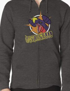 Garchomp's Outrage Zipped Hoodie