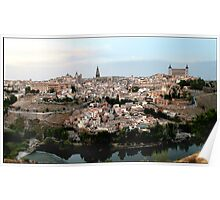 The Spanish City of Toledo Poster