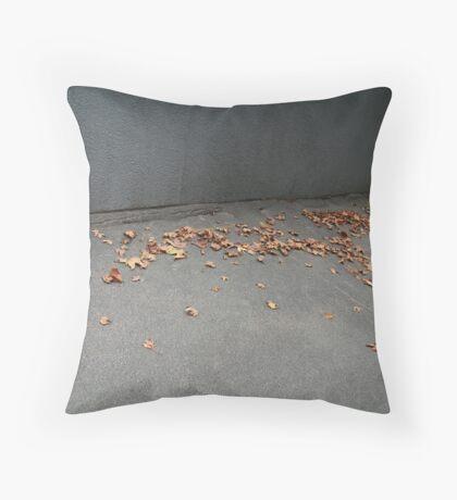 The Autumn Race. Throw Pillow