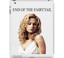 End of the Fairytale iPad Case/Skin