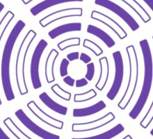 Mandala 32 Purple Haze Sticker