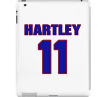National baseball player Grover Hartley jersey 11 iPad Case/Skin