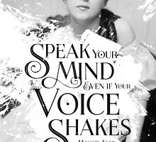 Speak your Mind by Shawna Armstrong