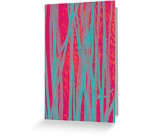 All Tangled Vertical Textured Greeting Card