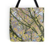 Psychedelic Nature Tote Bag