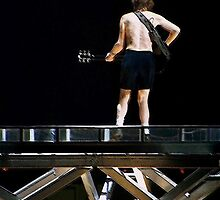 AC/DC - Angus Young by HellGateStudios