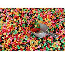 Jelly bean heaven Photographic Print