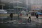 Macau City Rain by Mark Hayward
