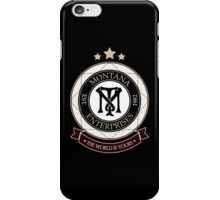 Montana Enterprises Co iPhone Case/Skin