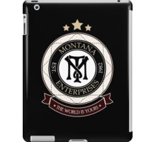 Montana Enterprises Co iPad Case/Skin