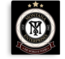 Montana Enterprises Co Canvas Print