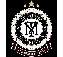 Montana Enterprises Co Photographic Print