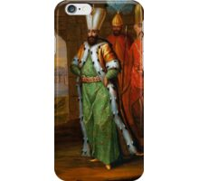 AHMED III AND HIS RETINUE iPhone Case/Skin