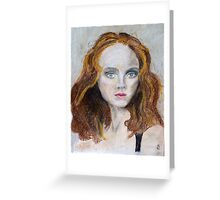Lily Cole Greeting Card