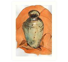 Stoneware Vase  Art Print