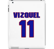 National baseball player Omar Vizquel jersey 11 iPad Case/Skin