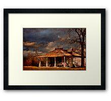 Turnbo's Store - Three Brothers Arkansas Framed Print