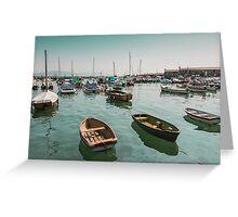 Lyme Regis Dorset UK Greeting Card