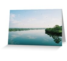 Tennessee river Greeting Card