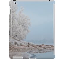 foggy winter landscape iPad Case/Skin