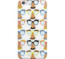 Goofy Glasses iPhone Case/Skin