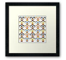 Goofy Glasses Framed Print