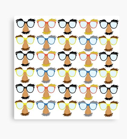 Goofy Glasses Canvas Print